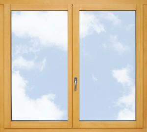 1. Okno dwuskrzydłowe strona wewnętrzna