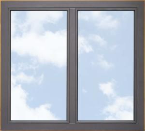 2. Okno dwuskrzydłowe strona zewnętrzna